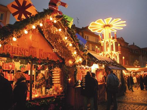 Vánoční trhy v Berlíně