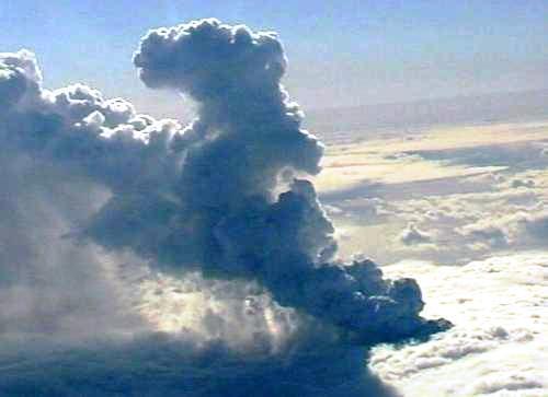 Erupce sopky v islandském ledovci Eyjafjallajökull