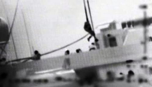 Izraelské záběry z napadené flotily