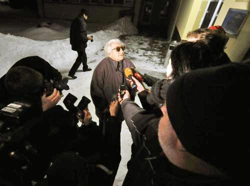 Ludmila Brožová-Polednová po propuštění z věznice