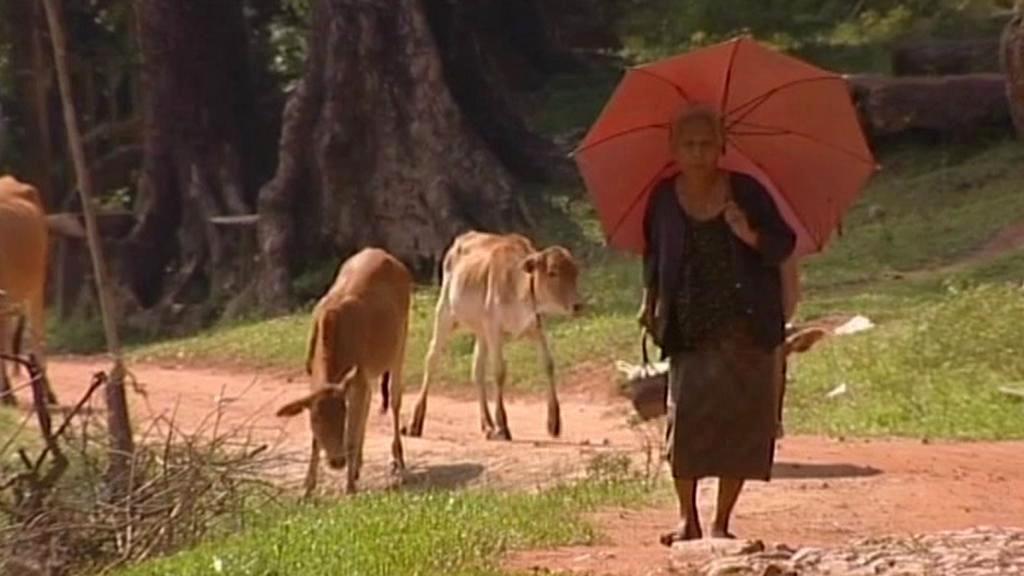 Laoská vesničanka