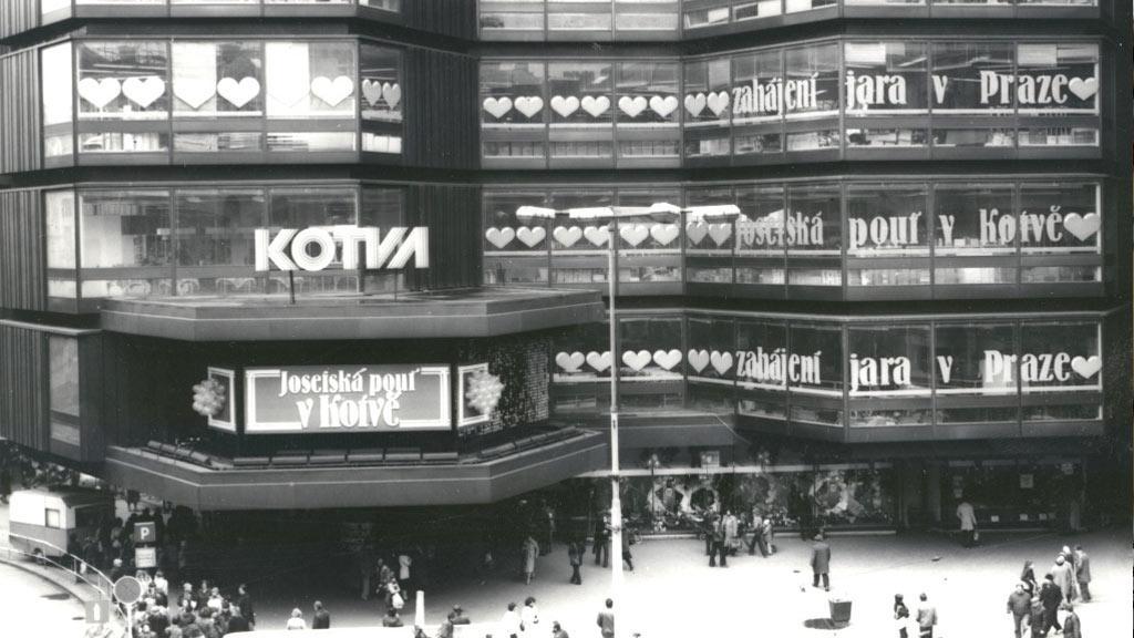 Obchodní dům Kotva v Praze