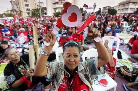 Protivládní demonstrace v Thajsku
