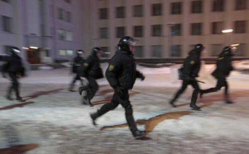 Protesty proti Lukašenkovi