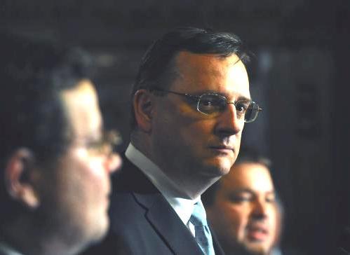 Petr Nečas po jednání grémia ODS