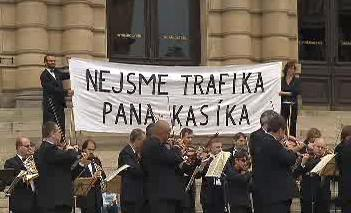 Protest ČF