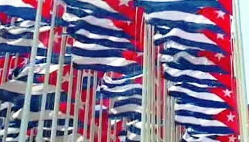 Kubánské vlajky