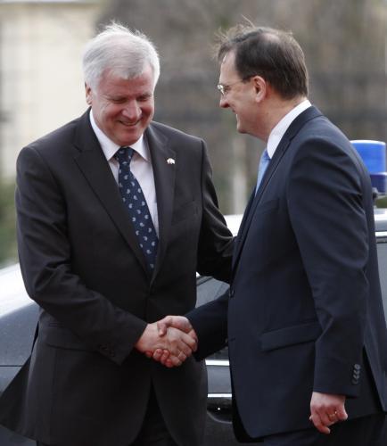Setkání Nečase s bavorským premiérem Seehoferem