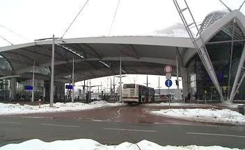 Autobusové nádraží v Hradci Králové