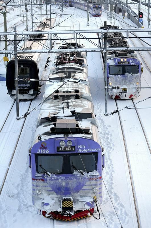 Švédské železnice