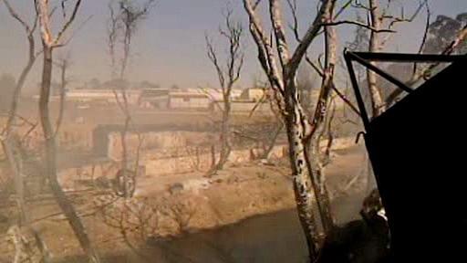 Následky výbuchu ropovodu