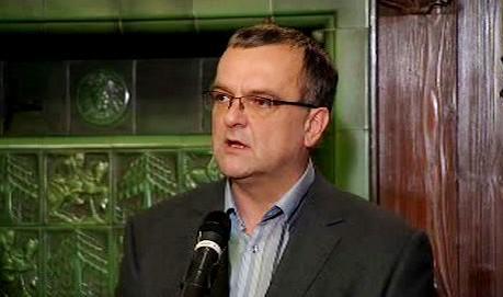 Ministr financí a 1. místopředseda TOP 09 Miroslav Kalousek