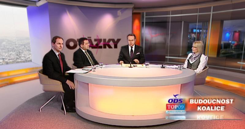 Hosté pořadu Otázky Václava Moravce