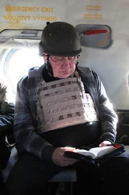 Dominik Duka na cestě do Afghánistánu