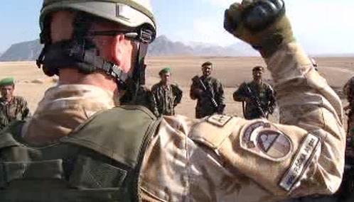 Čeští vojáci vedou výcvik afghánské armády