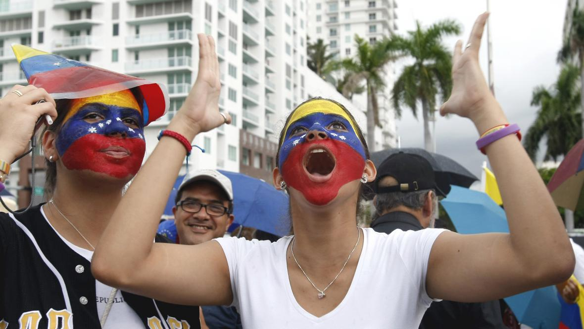 Protesty proti Chávezovi