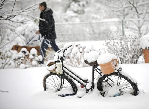 Sněhová kalamita v Německu