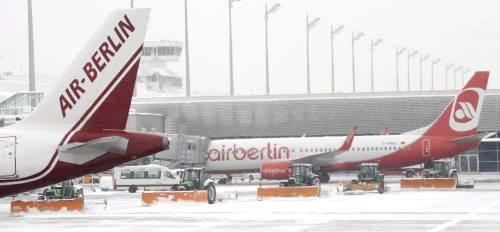 Mnichovské letiště zrušilo řadu letů