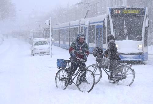 Sněhová kalamita v Nizozemsku