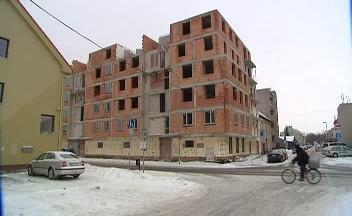 Nedostavěný dům firmy Kvalt
