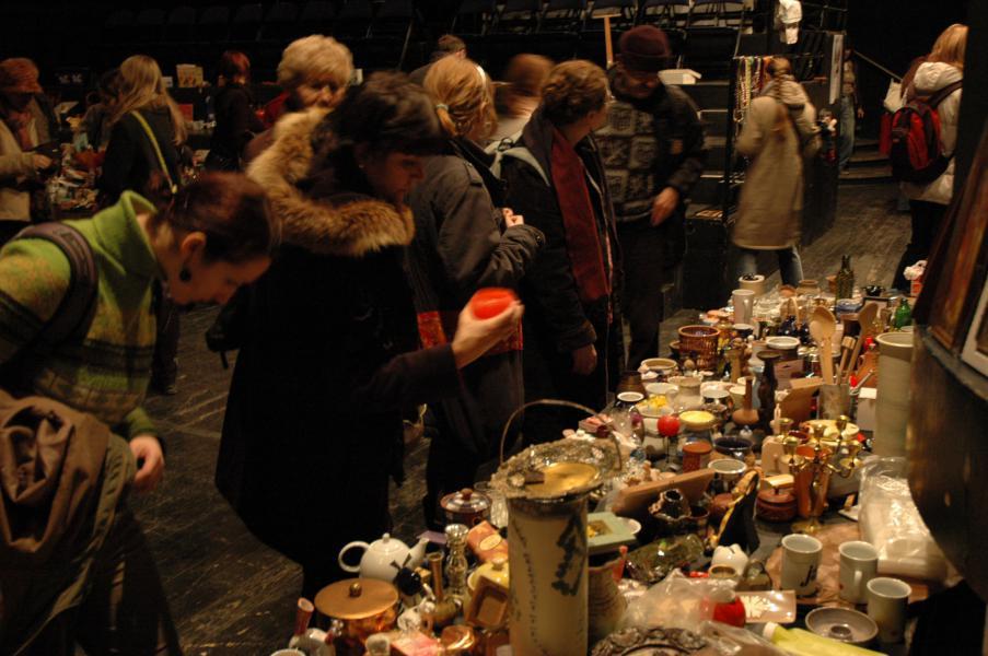 Vánoční bazar v Mokré čtvrti