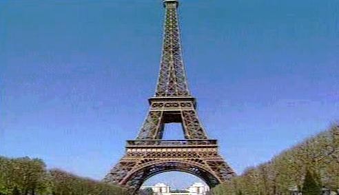 Francouzká Eiffelova věž
