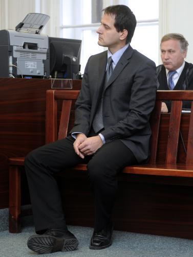 Martin Vlček na lavici obžalovaných