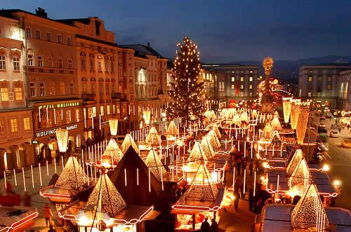 Vánoční trhy ve Vídni