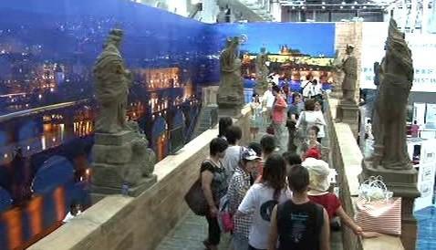 Expozice Prahy v Šanghaji