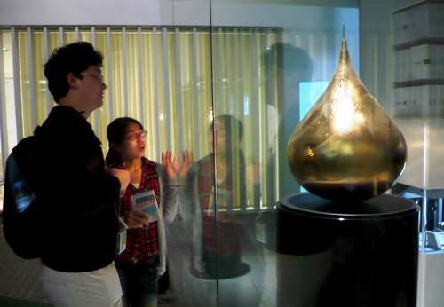 Zlatá slza na Expo 2010
