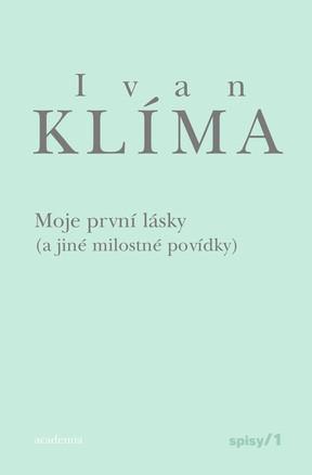 Přebal prvního svazku spisů Ivana Klímy
