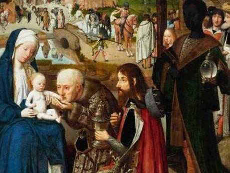 Klanění tří králů od malíře Geertgena tot Sint Jans