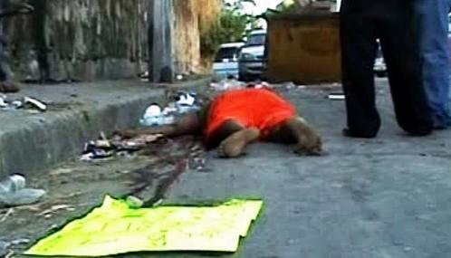 Oběti drogového násilí v Mexiku