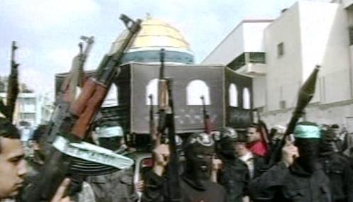 Bojovníci hnutí Hamas