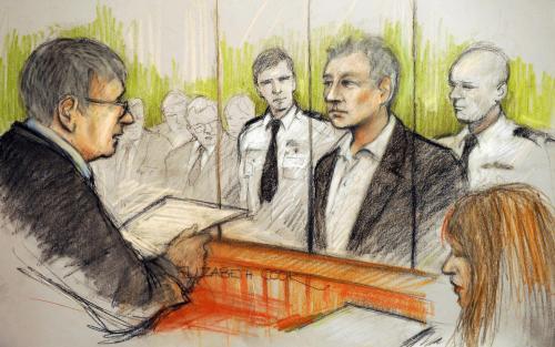 Julian Assange před britským soudem