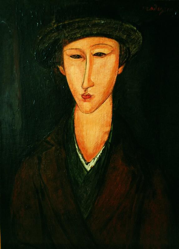 A. Modigliani / Marevna (1919)