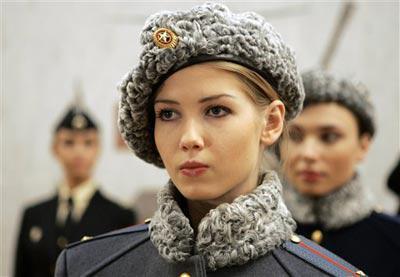 Návrhy nových ruských uniforem