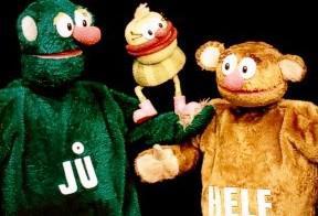 Jů, Muf a Hele
