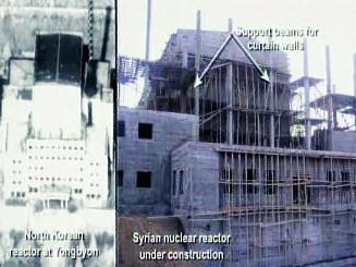 Jaderná zařízení Jongbjon a Al-Kibar