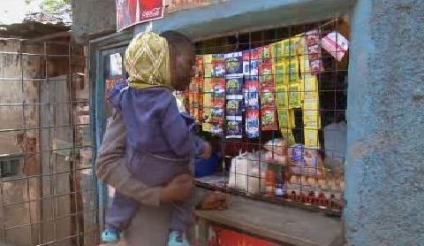 Nakupování v Keni
