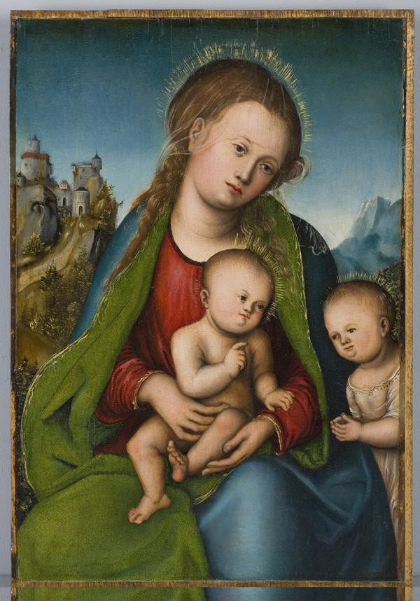 Lucas Cranach / Madona s dítětem