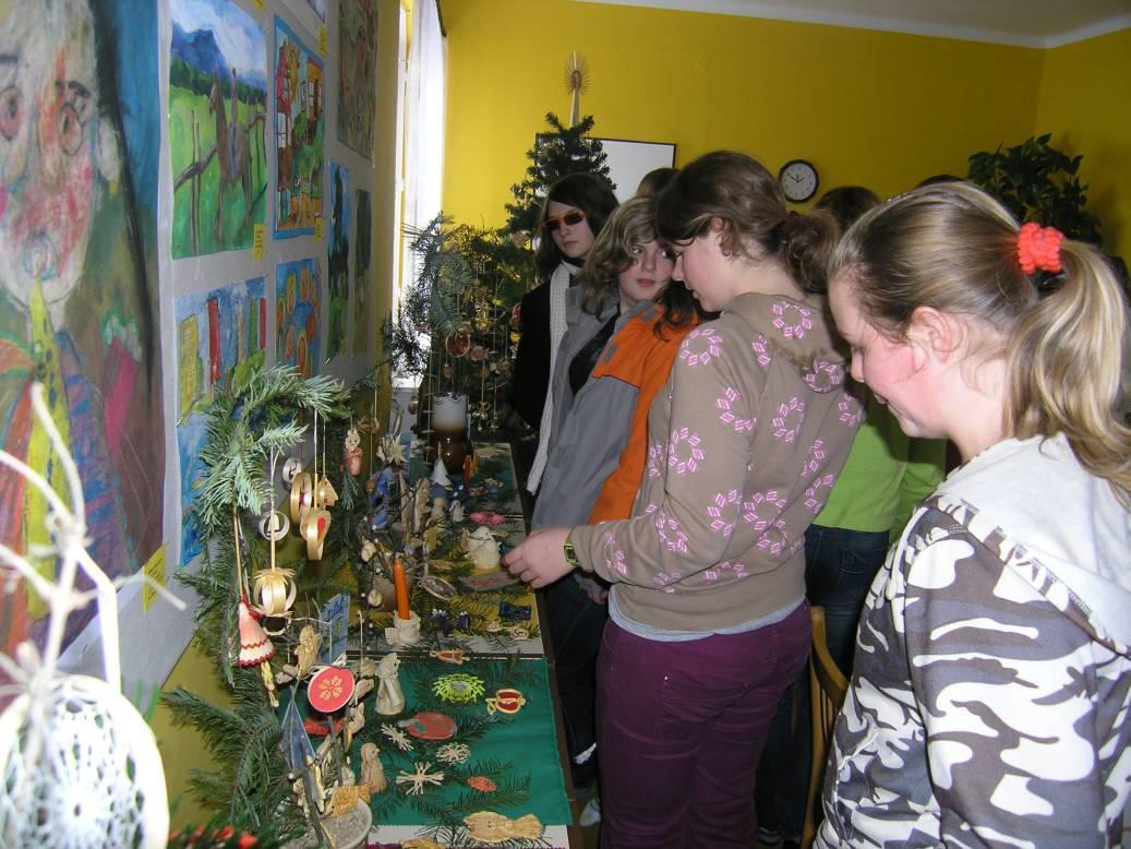 Vánoční výstava v Šumné