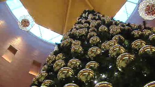 Vánoce v nákupních centrech