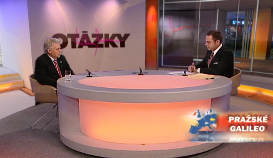Otázky Václava Moravce 12. 12. 2010