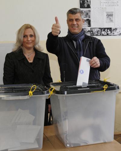 První volby v samostatném Kosovu