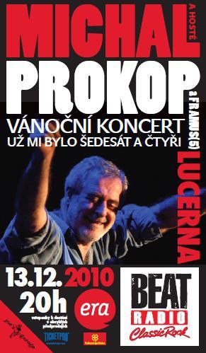 Vánoční koncert Michala Prokopa a Framus Five