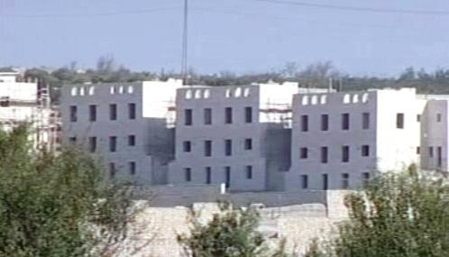 Výstavba židovských osad