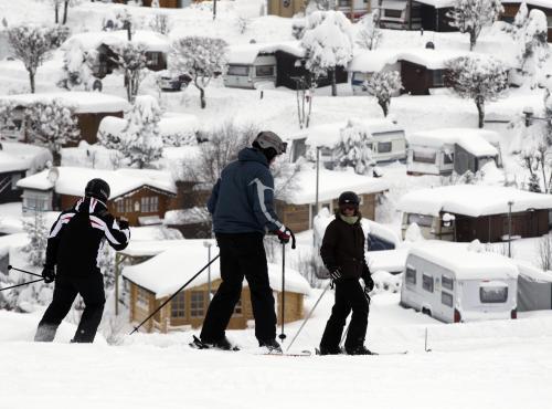 Sníh v Německu