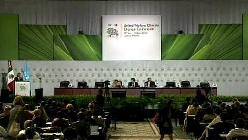 Konference o klimatu v mexickém Cancúnu