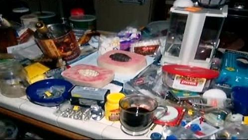 Výbušniny nalezené v domě v Escondidu